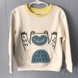 3 for $15- NWT Cat & Jack sweatshirt size 5t
